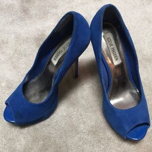 Steve Madden. Pumps royal blue. 7.5